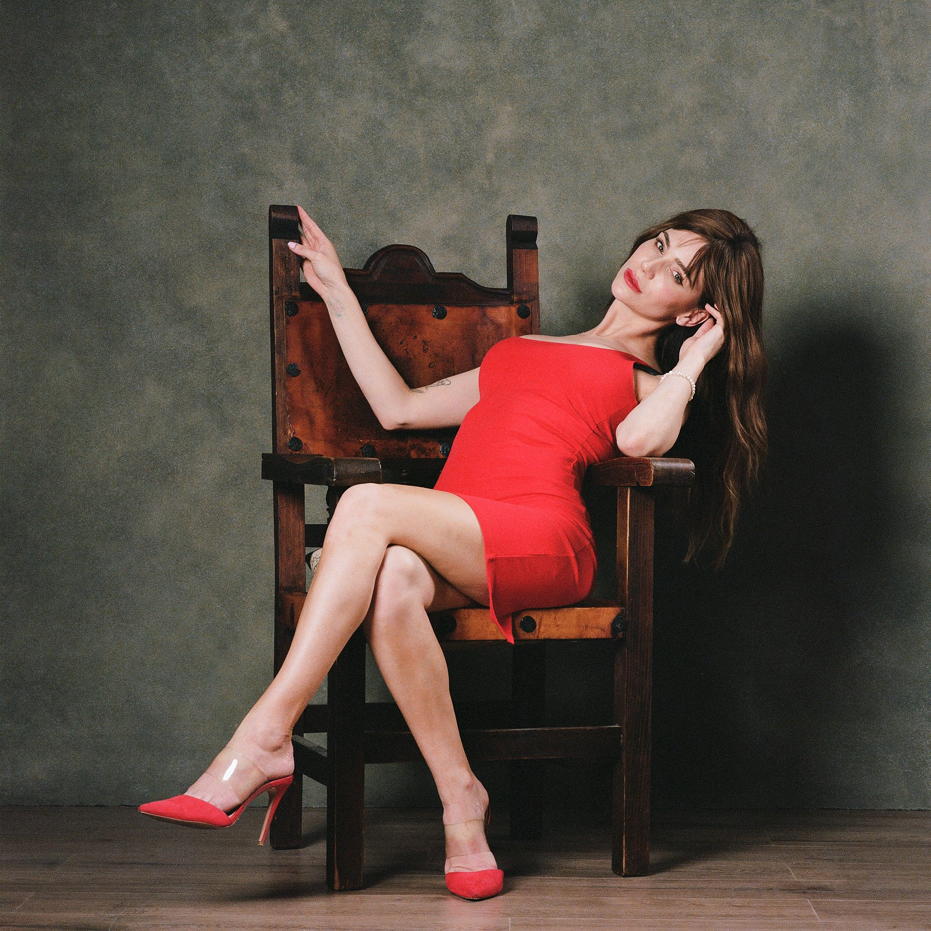 Lysa in the Spanish Chair on Film